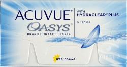 Линзы контактные, Акувью №6 Оазис bc 8.4 мм (-3.00)