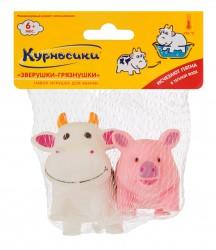Набор игрушек для ванны, Курносики №2 арт. 25050 Игрушки-грязнушки